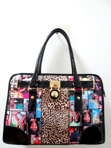 Obama Purse / Black Multicolor #F1034 (PC)