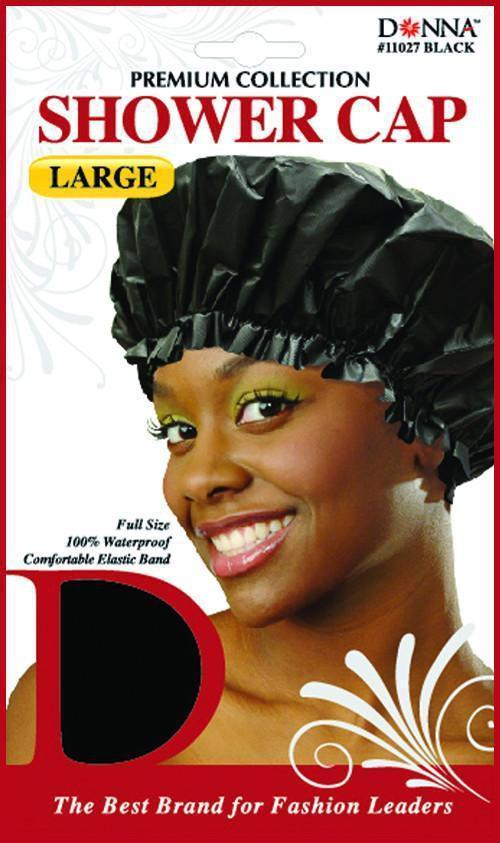 #11027 Large Shower Cap / Black (Dz)