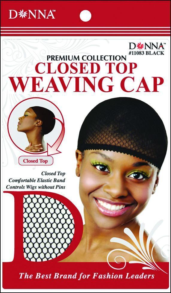 #11083 Closed Top Weaving Cap / Black (Dz)