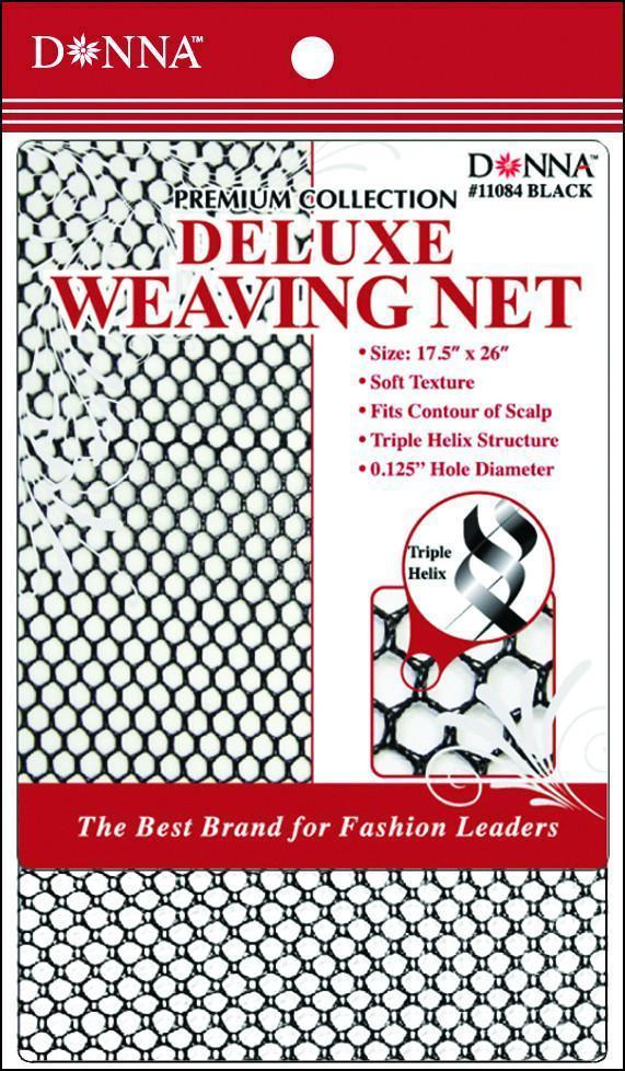 #11084 Deluxe Weaving Net / Black (Dz)