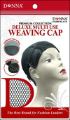 #11086 Deluxe Multi Use Weaving Cap / Black (Dz)