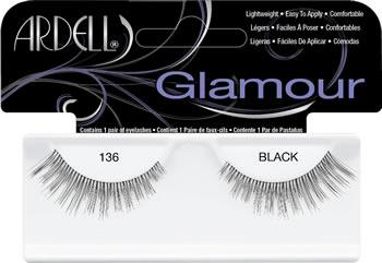 Ardell Glamour Eyelashes, #136 (4PC)