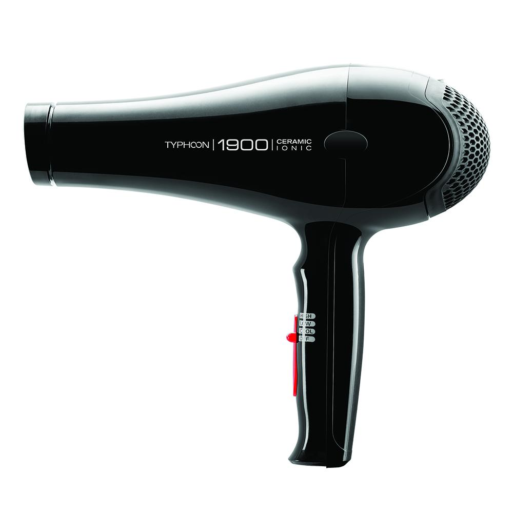 Tyche Typhoon Ceramic Ionic 1900 Hair Dryer #TP1900 (PC)