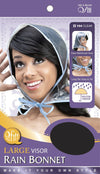 #194 Large Visor Rain Bonnet / Clear (Dz)