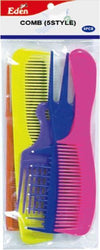 #20005 Eden Assort Comb 5Pc Set (12Pk)