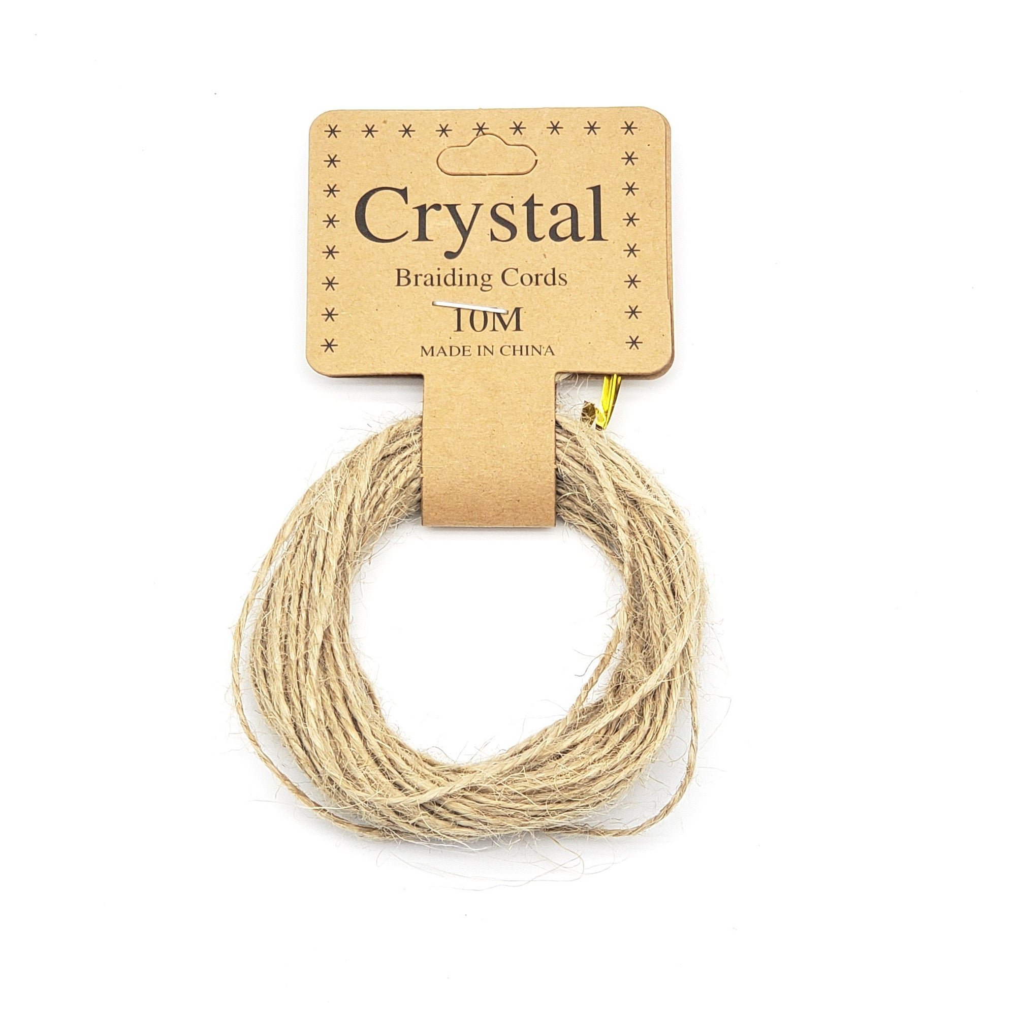 Crystal Braiding Cords 10M #KNV-1394 (12PC)