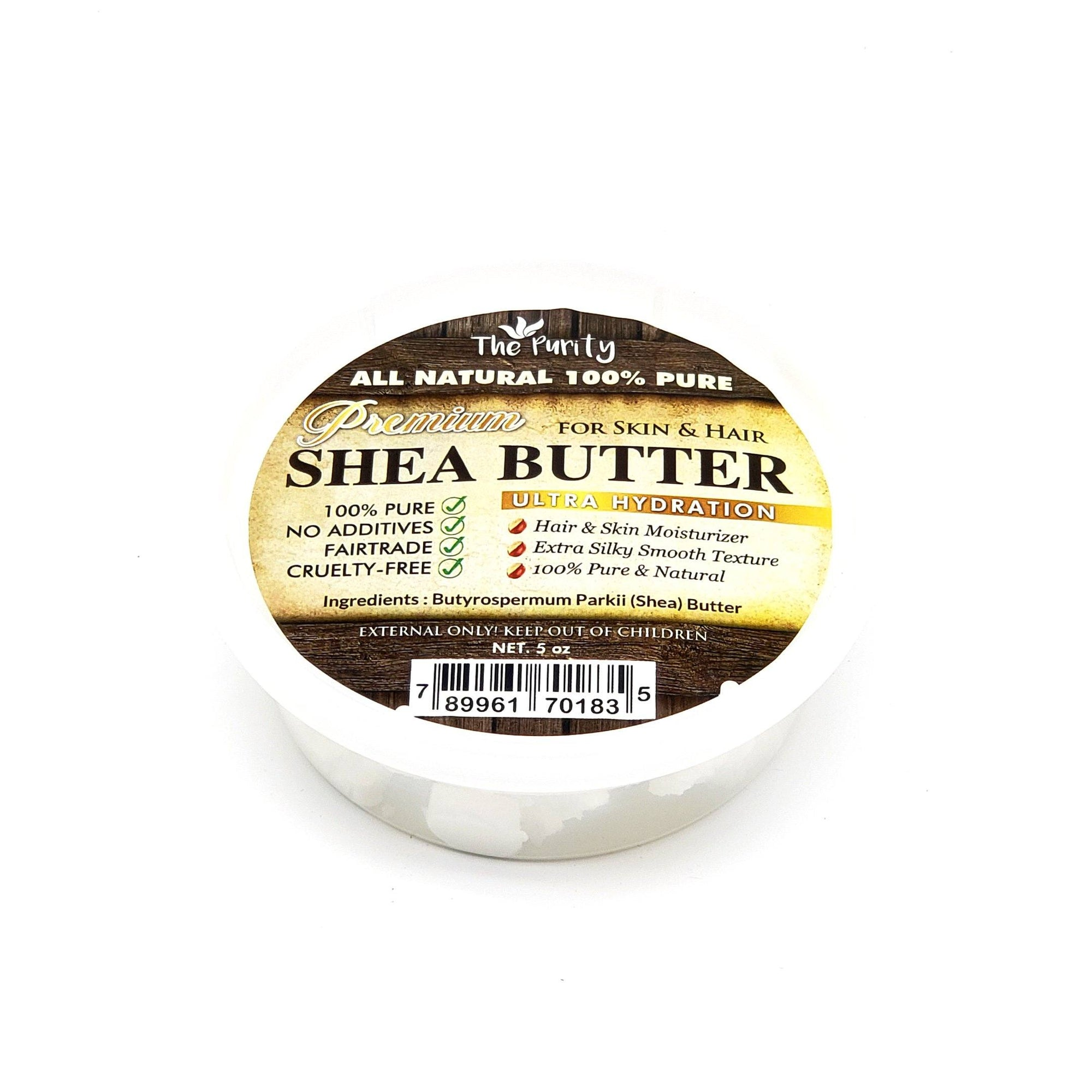 The Purity Premium Shea Butter 5oz