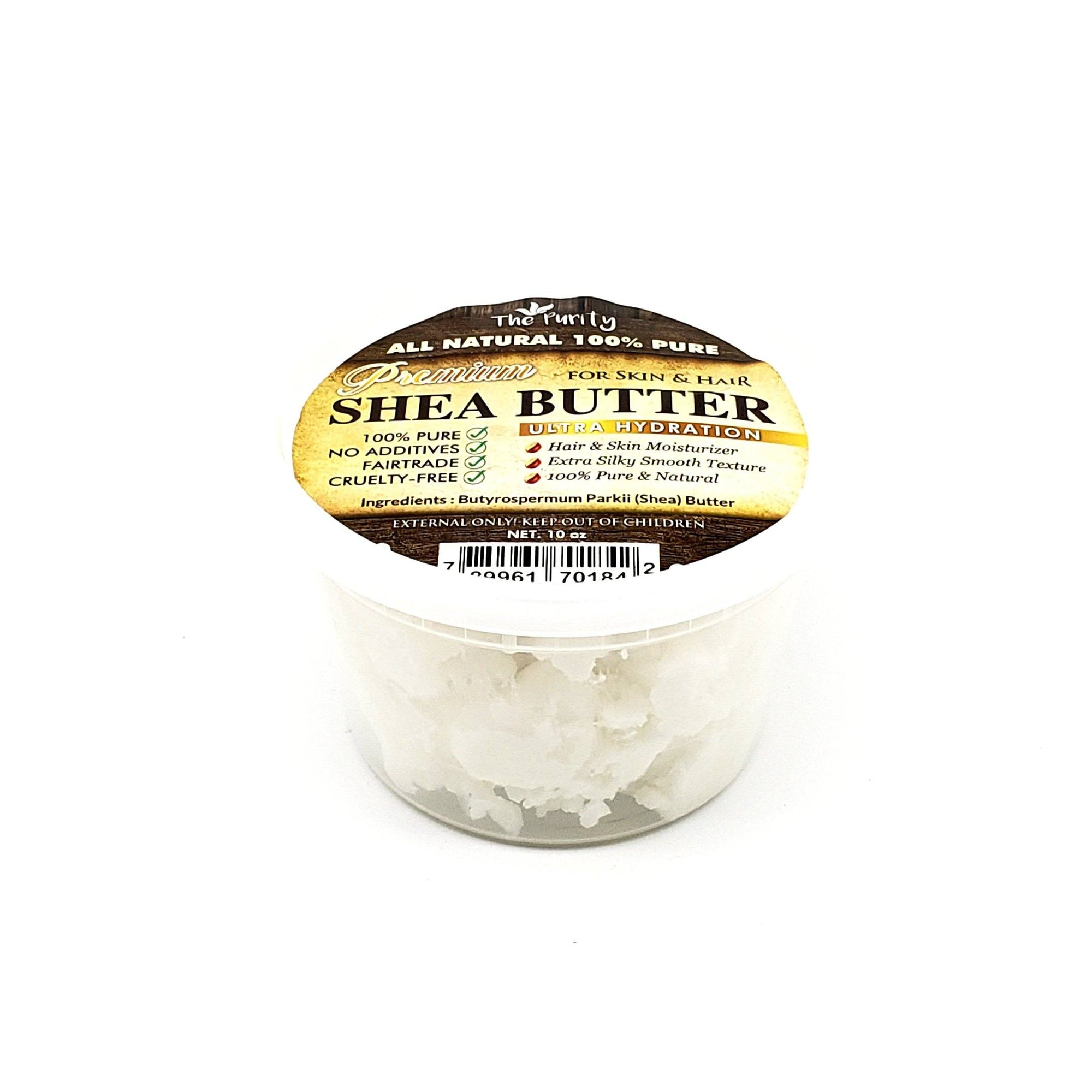 The Purity Premium Shea Butter 10oz