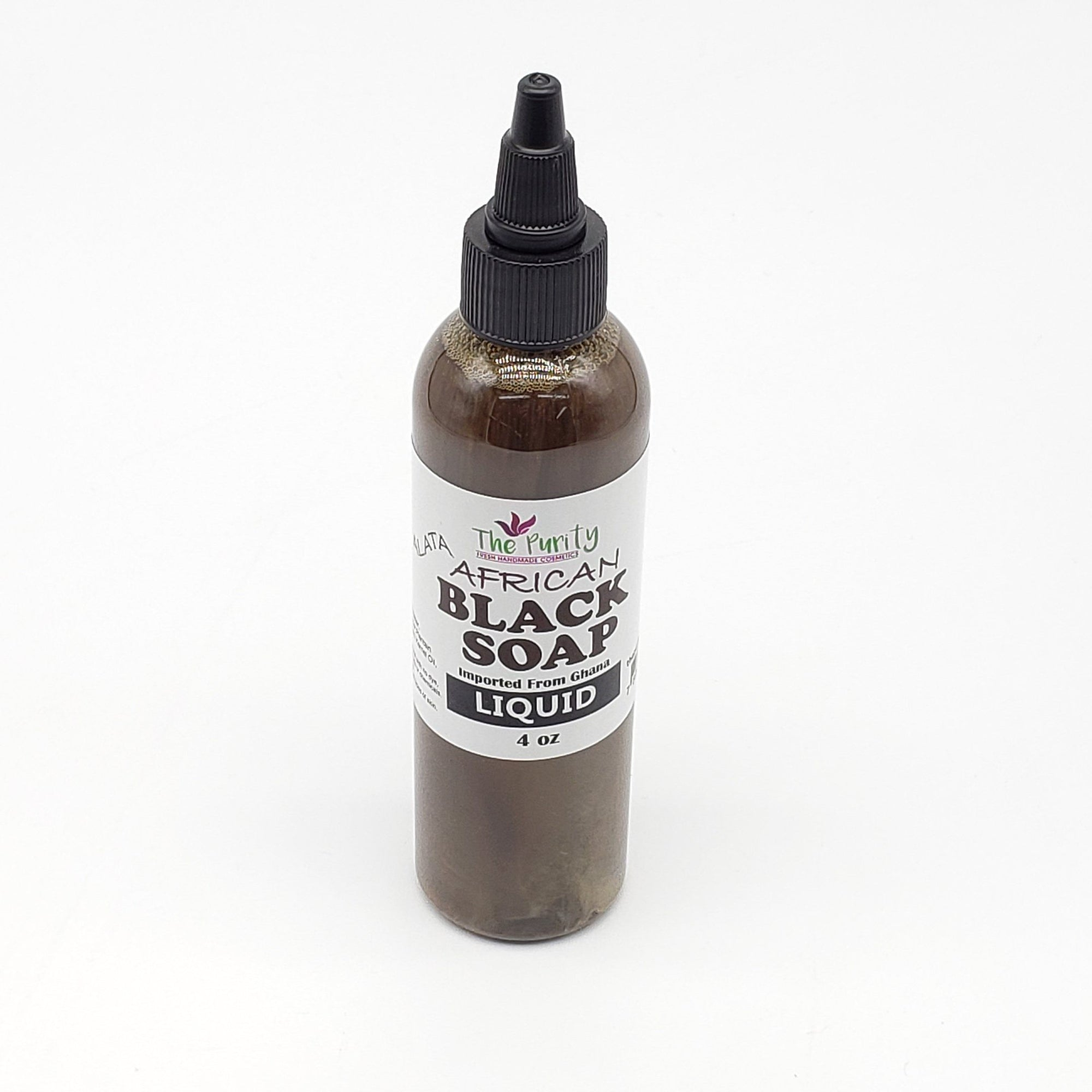 The Purity African Black Soap Liquid