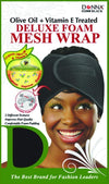 #22008 Treated Deluxe Foam Mesh Wrap / Black (Dz)