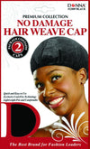 #22009 No Damage Hair Weave Cap / Black (Dz)