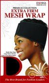 #22024 Extra Firm Mesh Wrap / Black (Dz)
