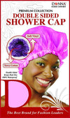 #22025 Double Sided Shower Cap / Assort (Dz)