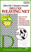 #22204 Treated Deluxe Weaving Net / Black (Dz)