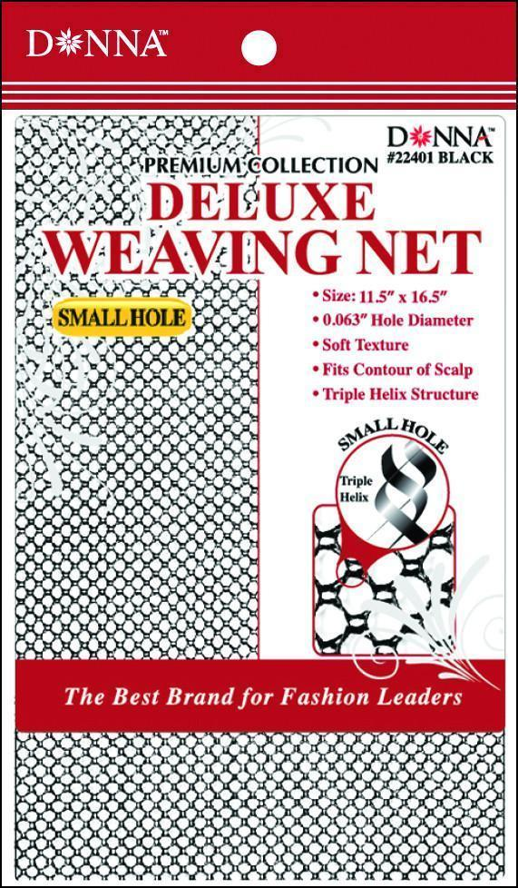 #22401 Small Hole Deluxe Weaving Net / Black (Dz)