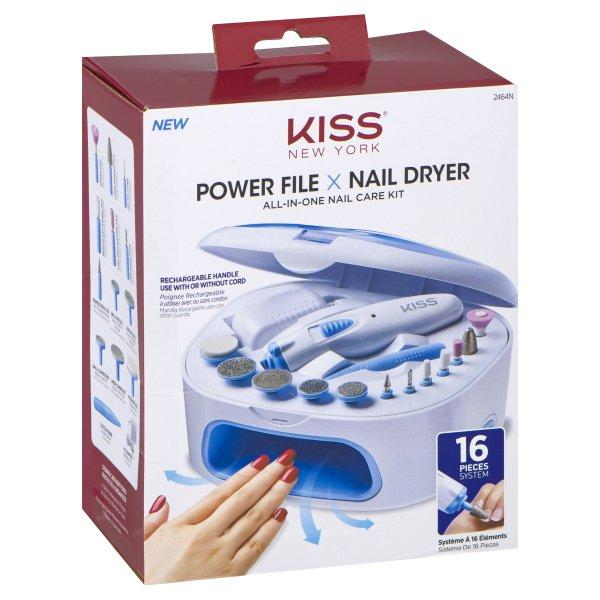 #2464N Kiss Power Nail File Deluxe (Pc)