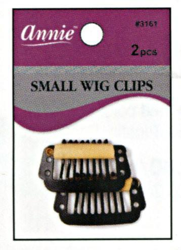 #3161 Annie Wig Clips Small 2Pc (12Pk)