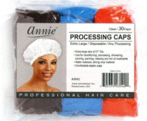 #3543 Annie Processing Caps Large Assort 30Pc (12Pk)