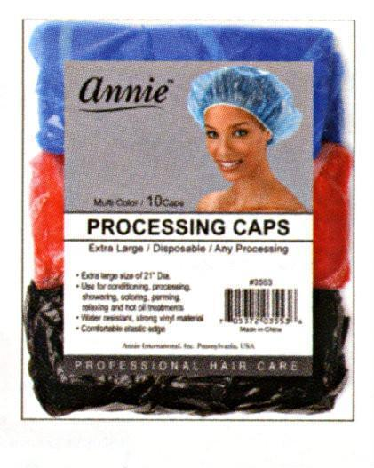 #3553 Annie Processing Caps Large 10Pc (12Pk)