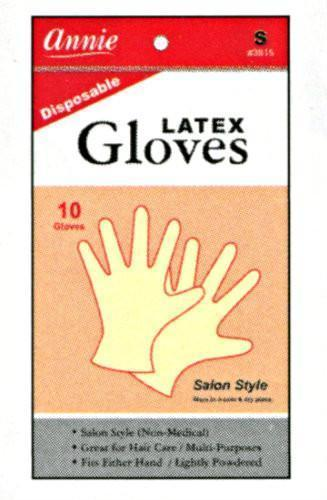 Annie Lightly Powdered Latex Gloves 10Pc (S-Xl) (12Pk)