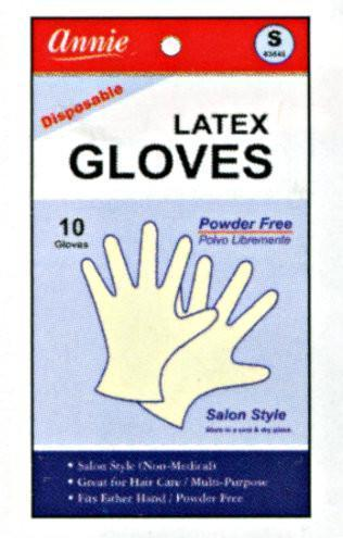Annie Powder Free Latex Gloves 10Pc (S-Xl) (12Pk)