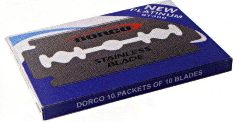 #St300 Dorco Double Edge Razor Blades 10Pc (10Pk)