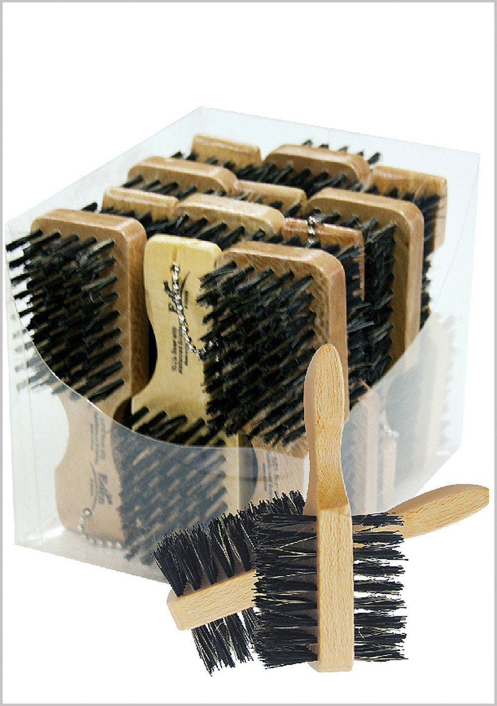 #533 Eden Double Mini Club Brush (12Pc)