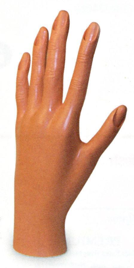#5452 Annie Hard Rubber Plastic Hand (Pc)