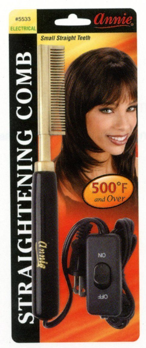 #5533 Annie Electrical Straightening Comb Small (Pc)