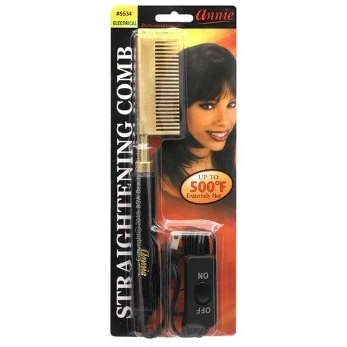 Annie Electrical Straightening Comb Double Sided #5534 (PC)