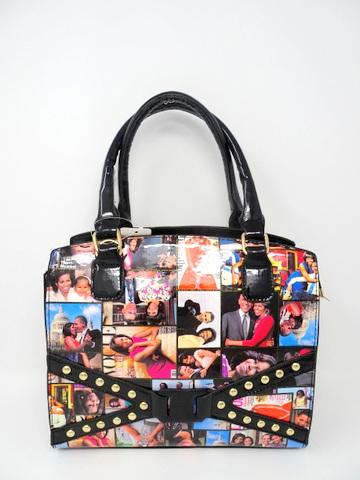 Obama Purse / Black Multicolor #F61251 (PC)