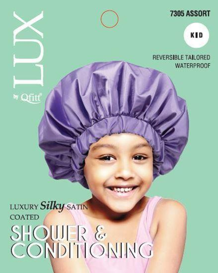 Lux Luxury Silky Satin Assort Shower and Conditioning for Kids #7305 (6PC)