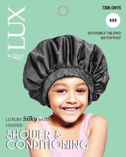 Lux Luxury Silky Satin Onyx Shower and Conditioning for Kids #7306 (6PC)