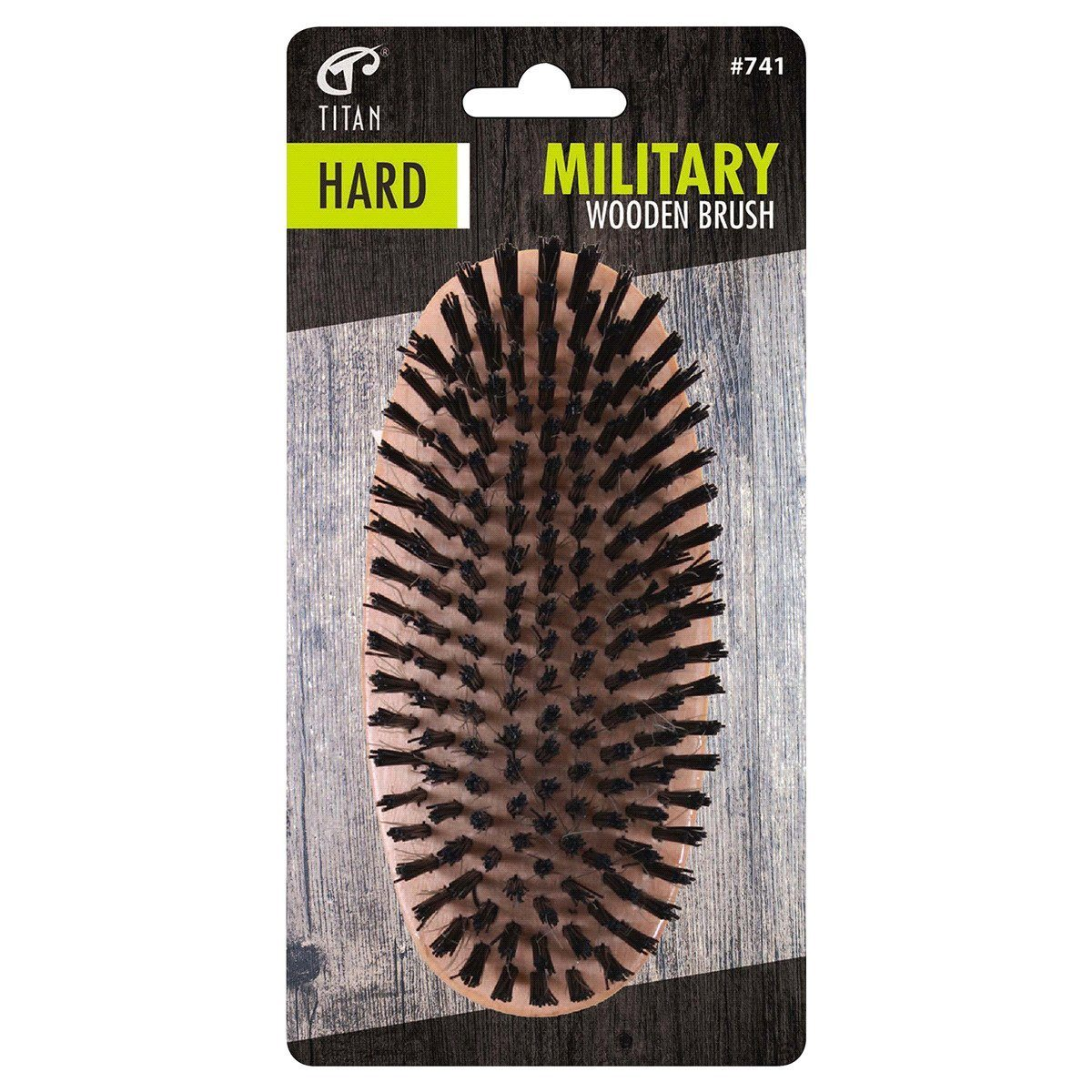 Titan Hard Military Brush #741 (12PC)