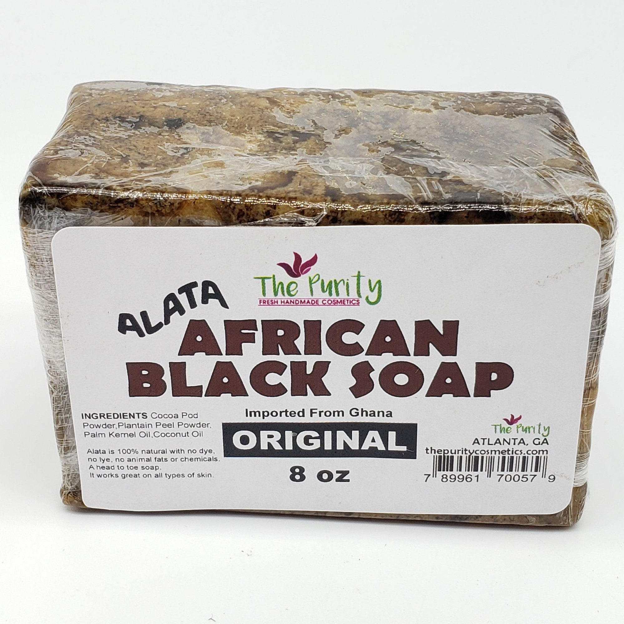 Alata African Black Soap 8oz (PC)