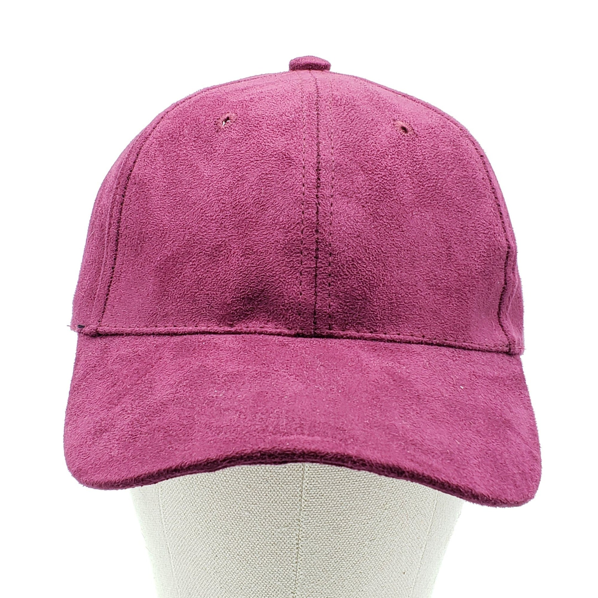 A&O Burgundy Velvet Hat #AO373BUR (PC)
