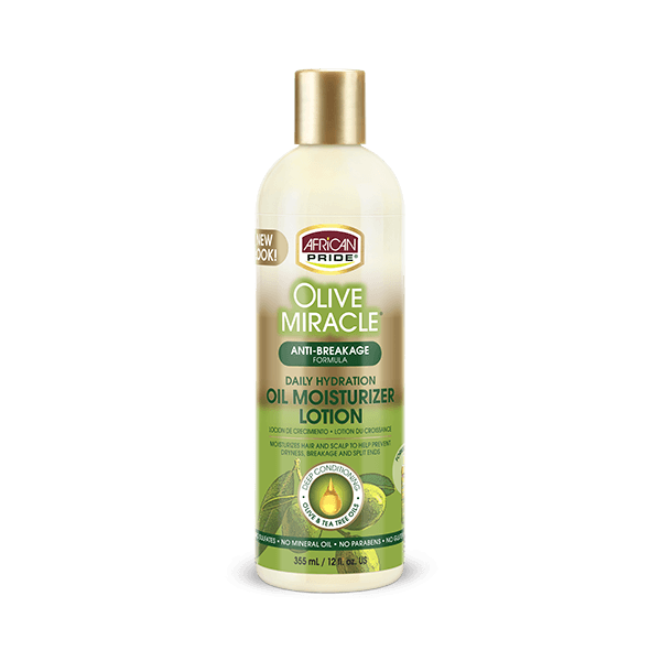 African Pride Olive Miracle Oil Moisturizer Lotion 12oz