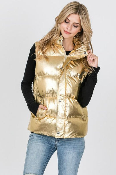 Fashion Collection Puff Vest Large#AV301 (PC)