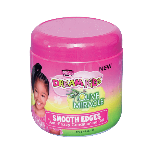 African Pride Dream Kids Smooth Edges Gel 6oz