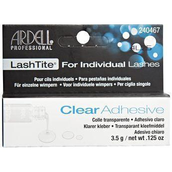Ardell Clear Lashtite Adhesive for Individual Lashes, .125oz #240467 (6PC)