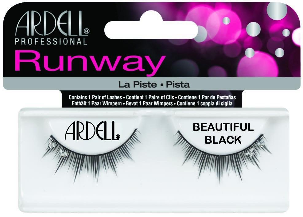 Ardell Runway Eyelashes, Beautiful (4PC)