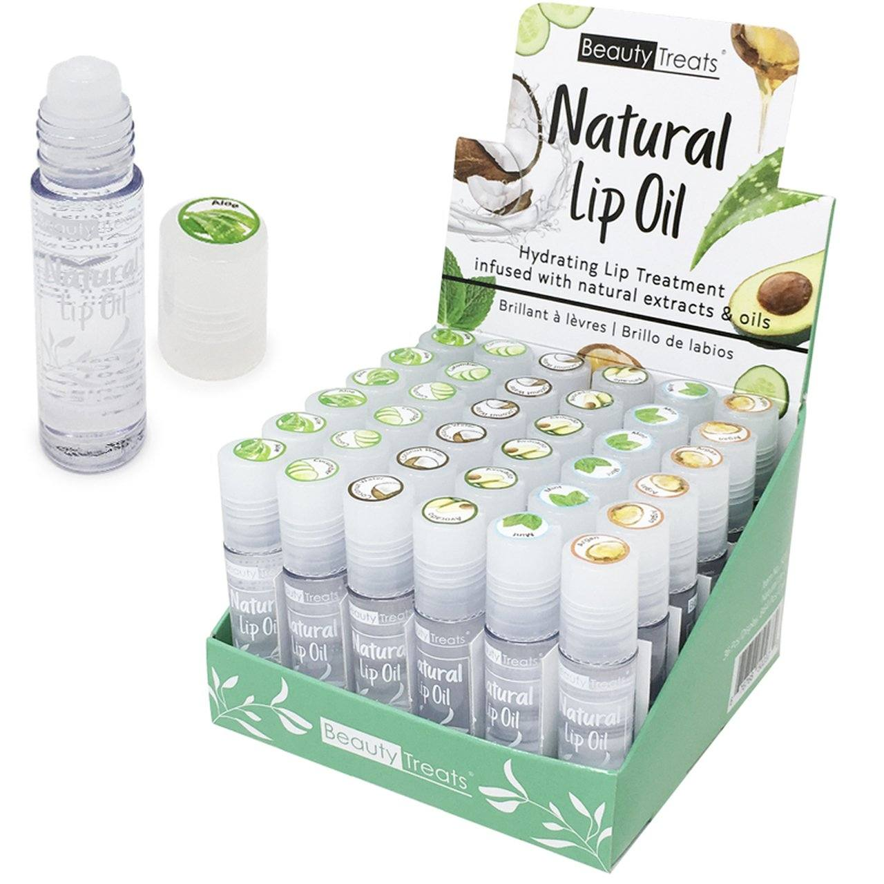 Beauty Treats Natural Lip Oil Set #502C (36PC)
