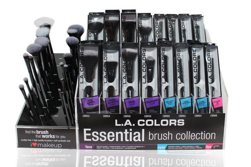 LA Colors Essential Brush Collection Set/Display #CAD79.1 (192PC)