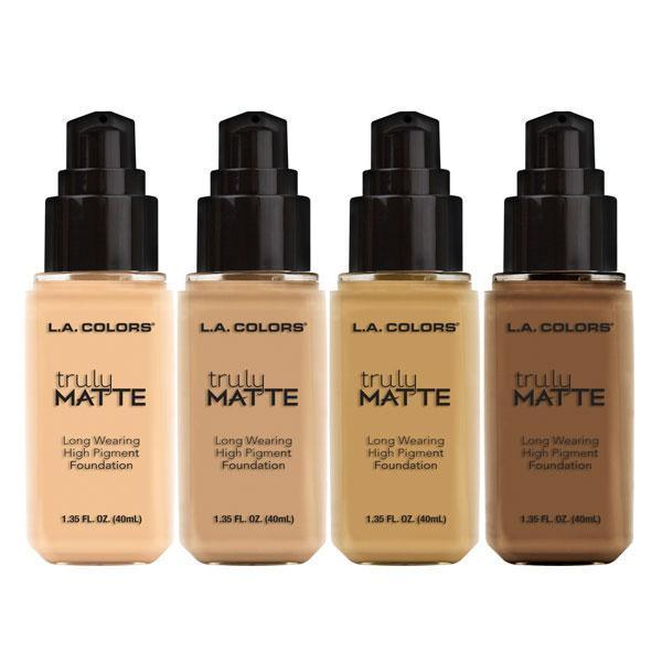 LA Colors Truly Matte Foundation #CLM (3PC)