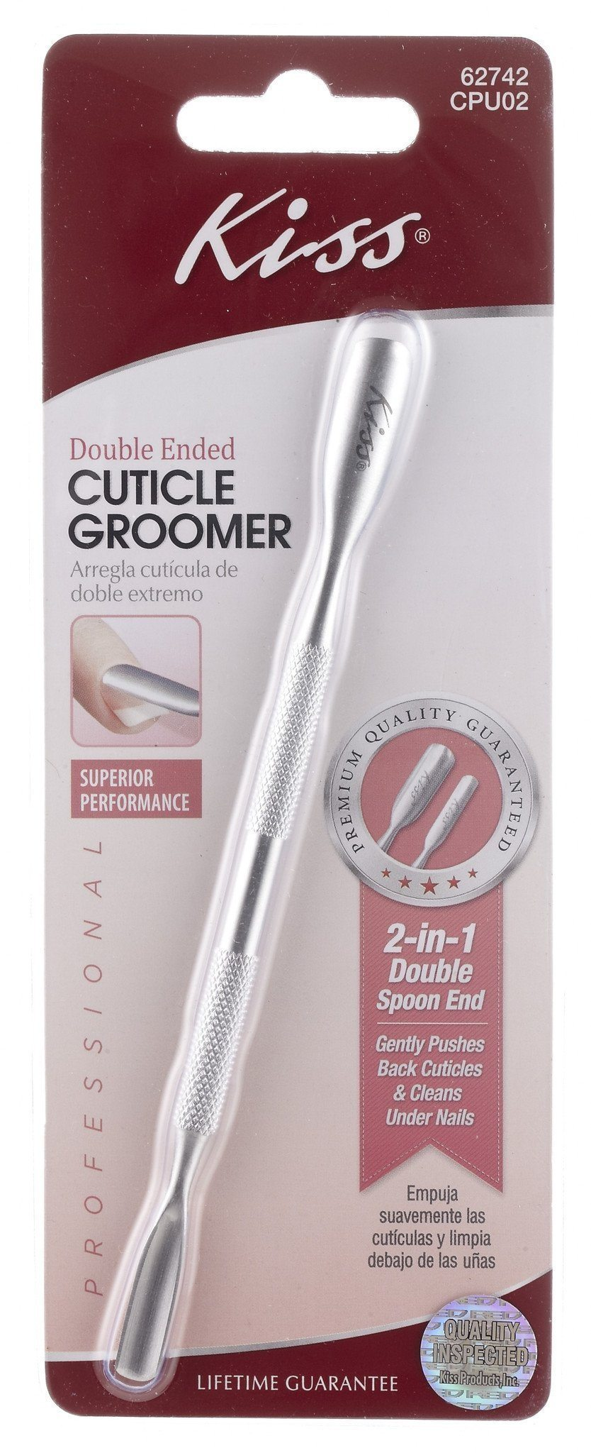 #Cpu02 Kiss Cuticle Groomer (Pc)