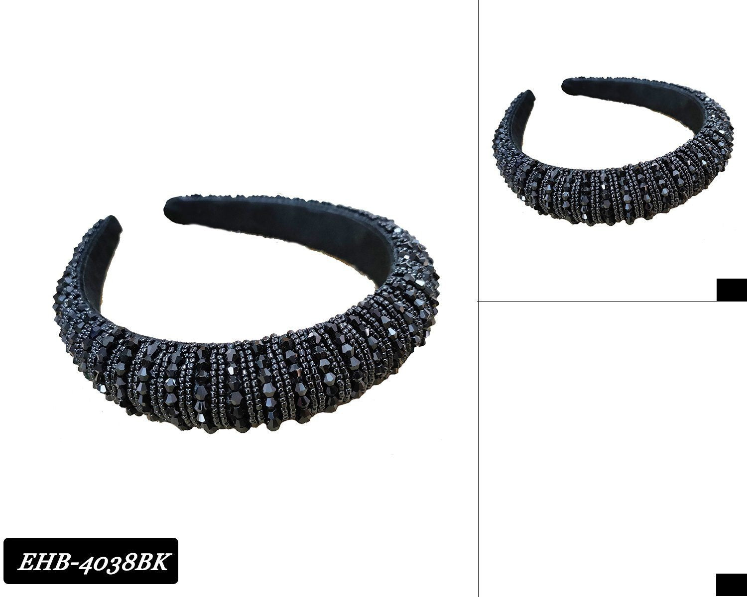 wholesale-fashion-headband-rhinestone-ehb4038BK