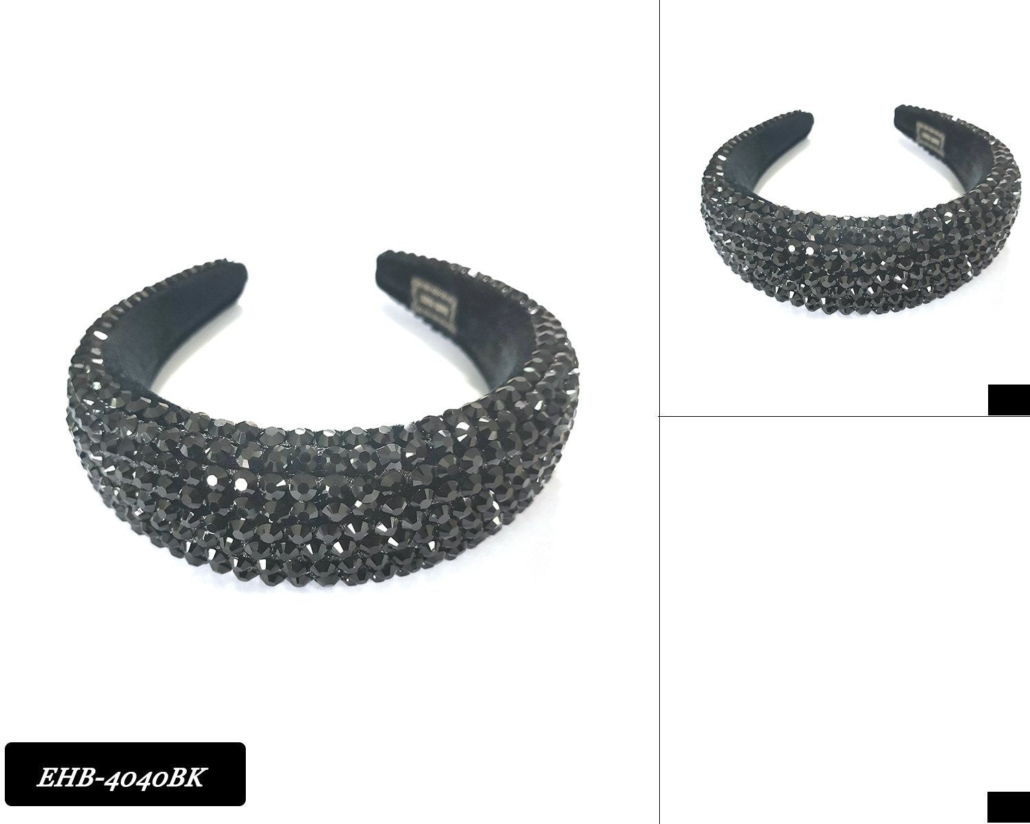 wholesale-fashion-headband-rhinestone-EHB4040BK