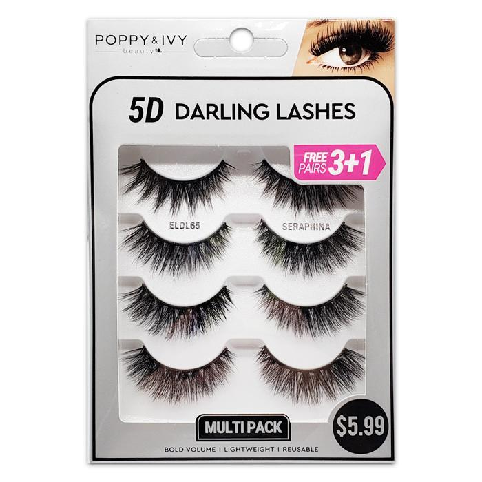 Absolute 5D Darling Lash #ELDL65 Seraphina (3PC)