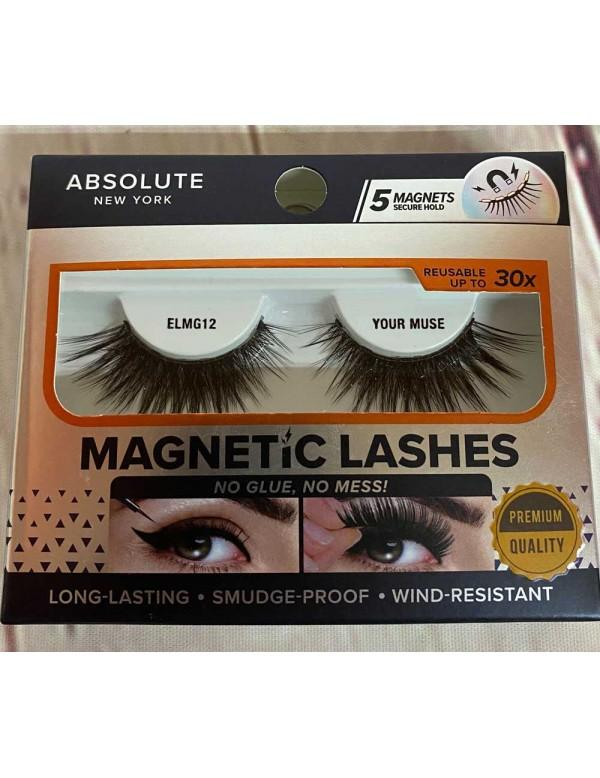 Absolute Magnetic Lashes #ELMG12 Your Muse (3PC)