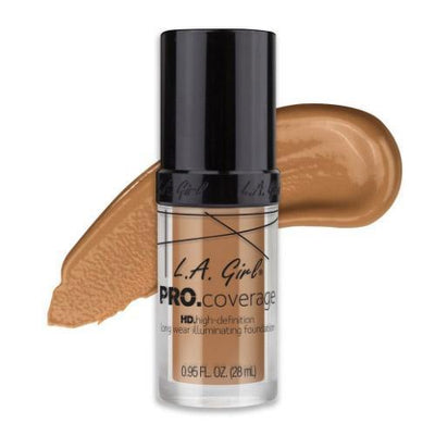 L.A. Girl Pro Coverage Illuminating Foundation (3PC) #GLM